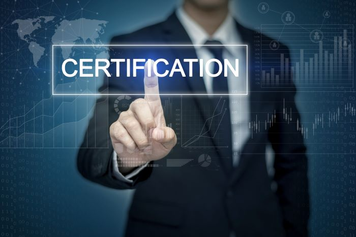 Financial certifications