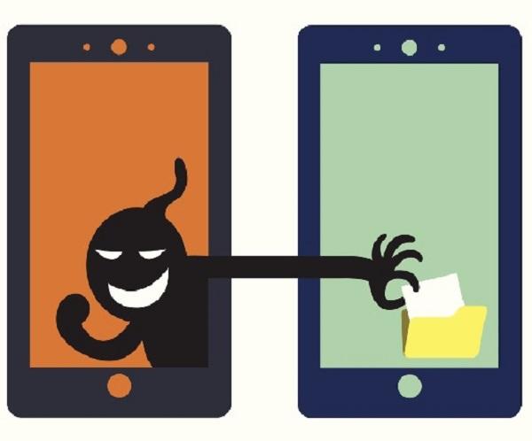 Hacker steals your data